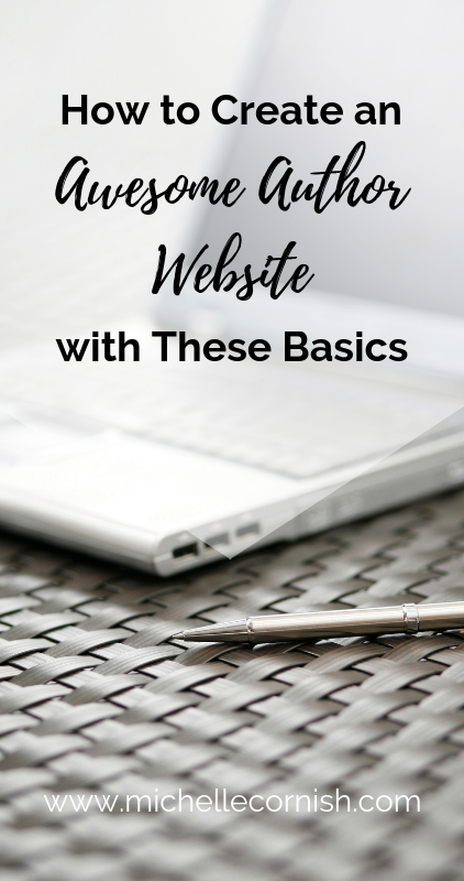 Learn the basics you need to include on your author website to connect with readers and sell more books!