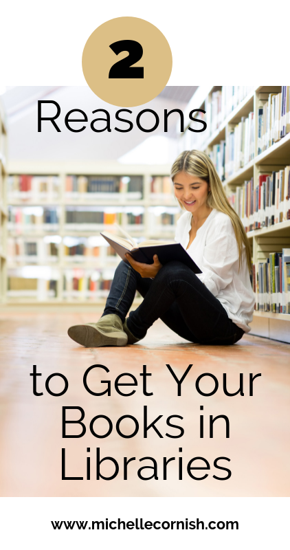 Self-published authors can get their books in libraries too. Click the link to learn two reasons why you should.