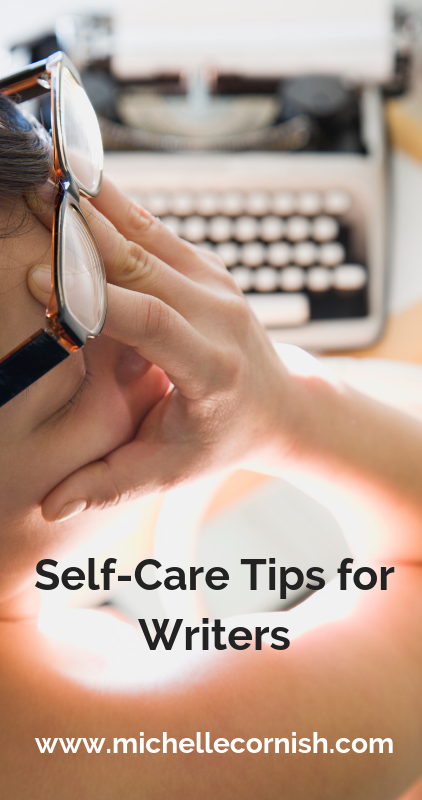 Check out these self care ideas for writers!