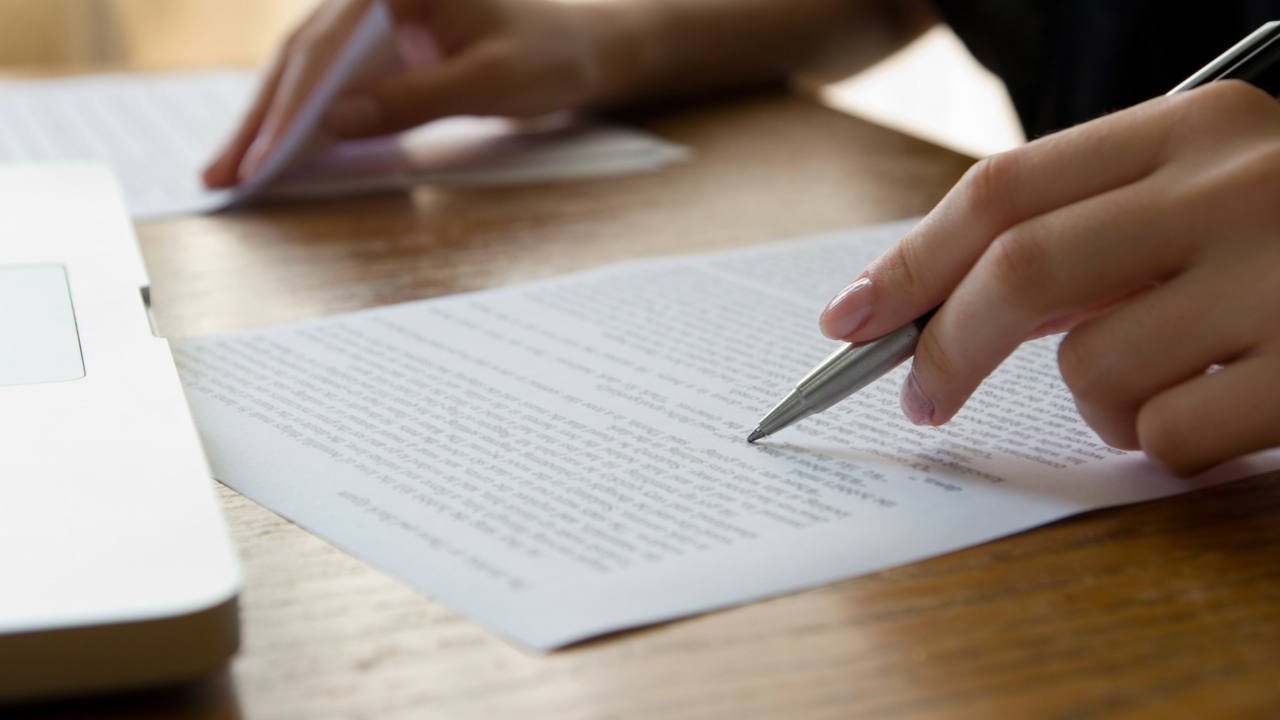The Differences Between Revising, Editing, and Proofreading -