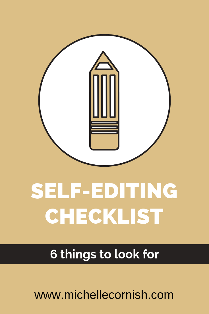 6 Things to Consider When Self-Editing