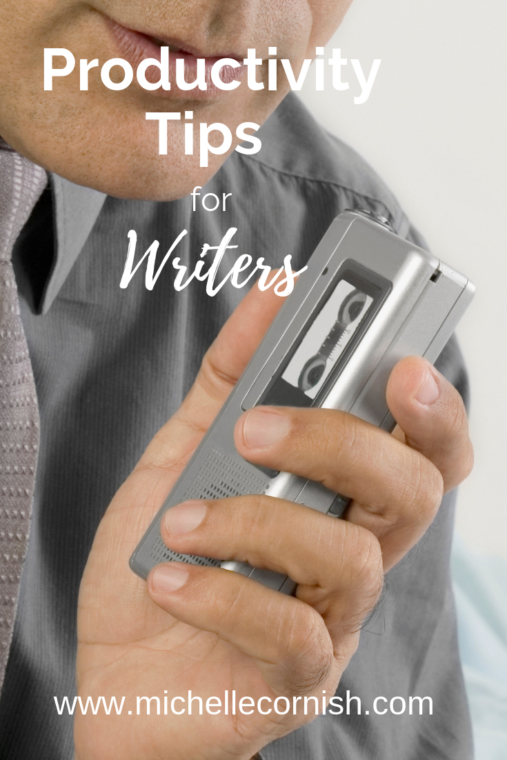 Productivity tips for Writers: Learn four ways to writer faster and better today!