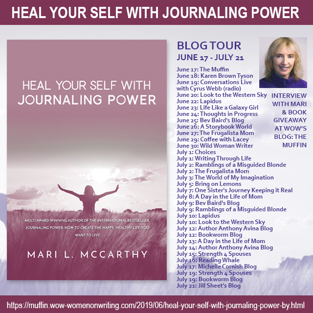 Learn more about Mari McCarthy and her journaling journey by following her blog tour!