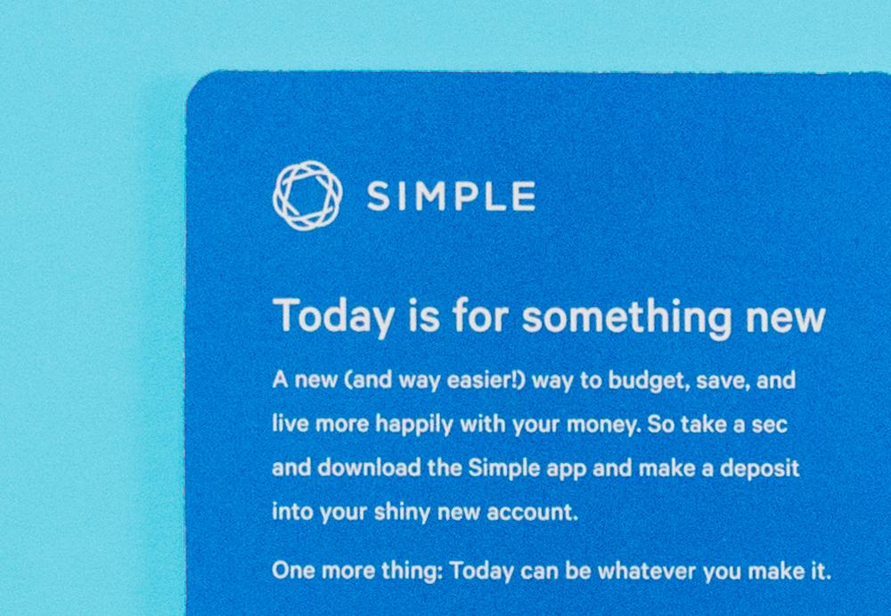 1.It's not just a card, it's a fresh start -