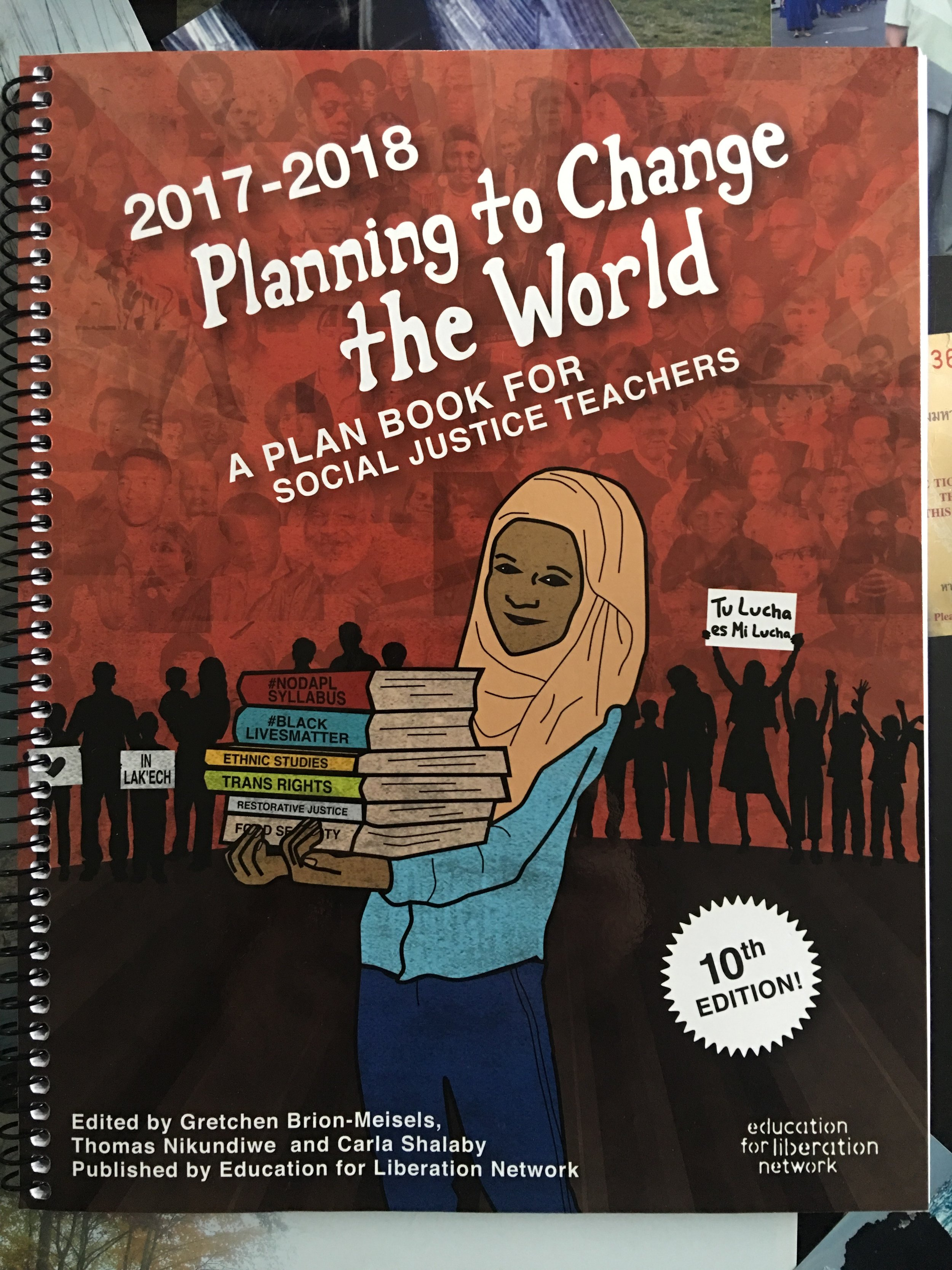 My favorite plan book! Plan Book for Social Justice Teachers available as pdf download  here .