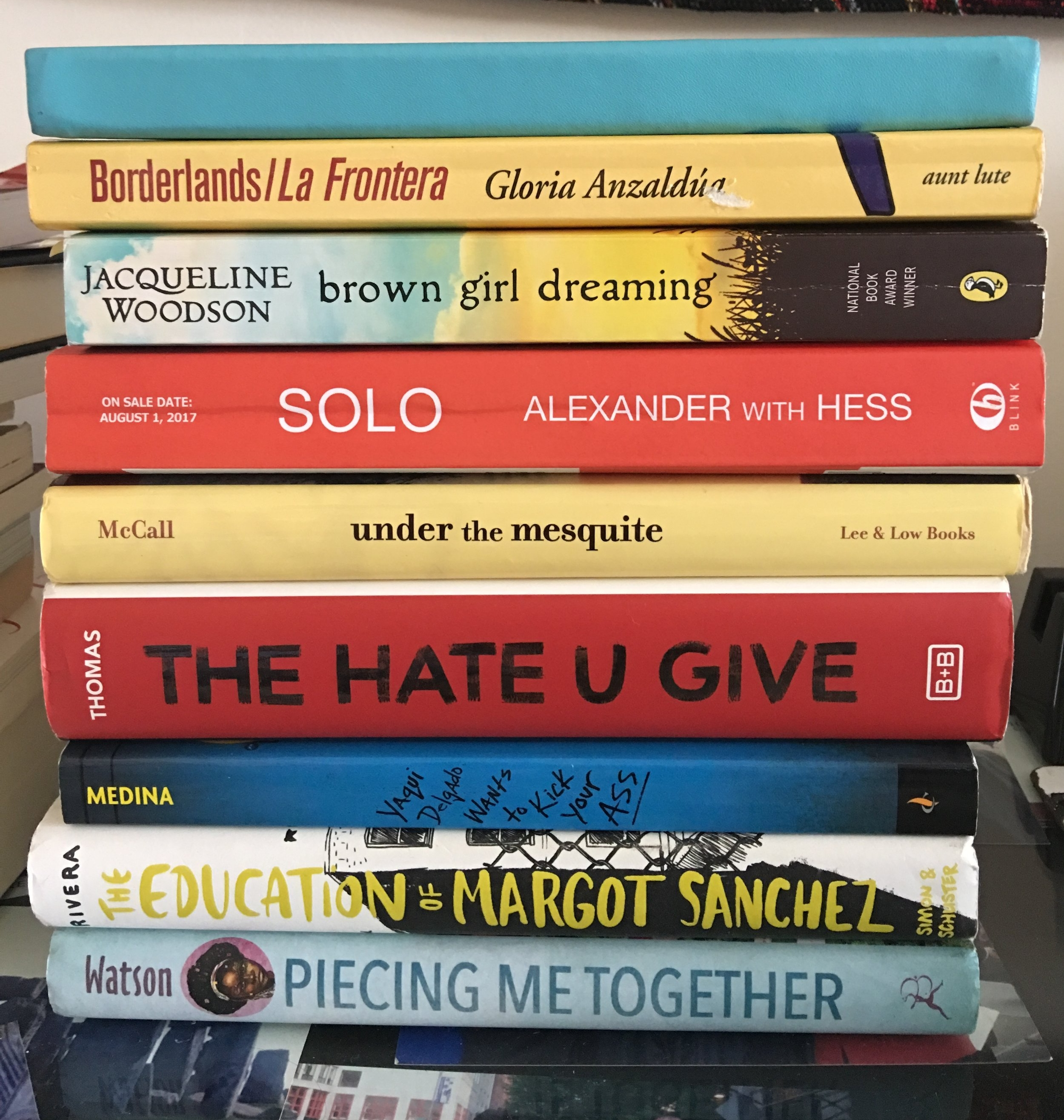 Some of my loves from this summer reading.