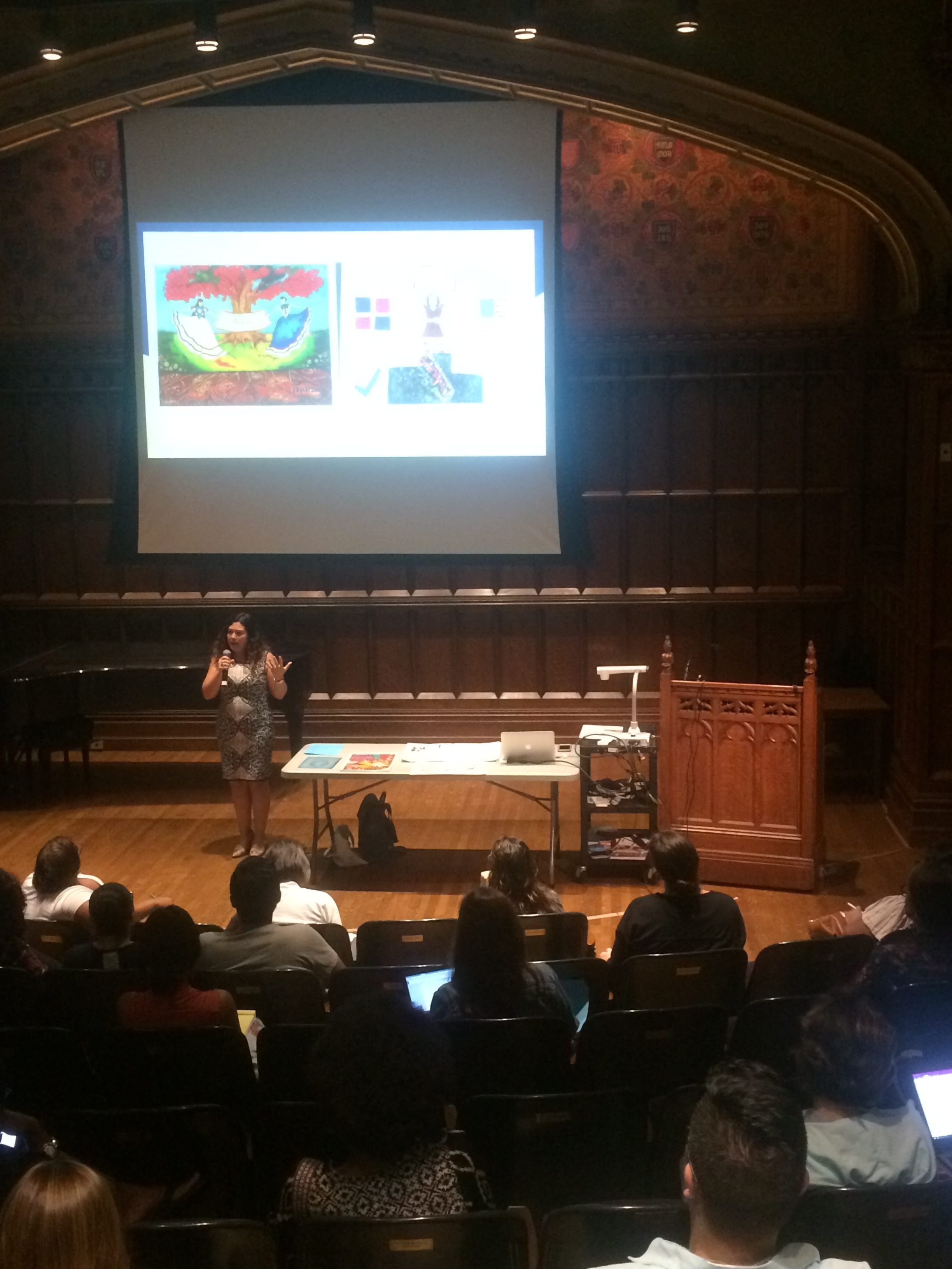 Social Justice Saturday at TCRWP - audience pic and student samples.jpeg