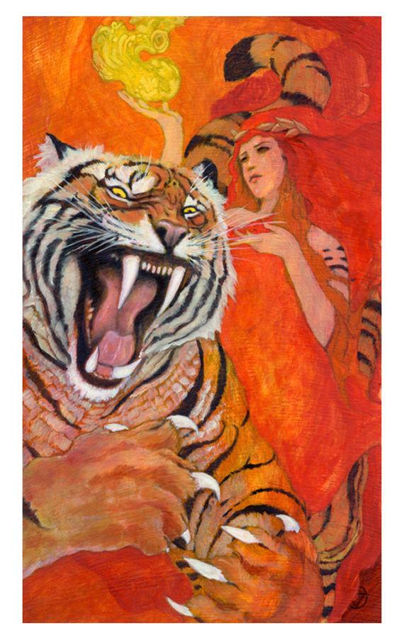 Image from  The Mary-El Tarot