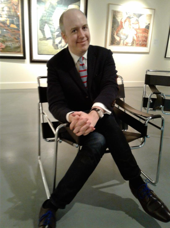 Bartholomew F. Bland, director of the Lehman College Art Gallery. Photo by Abrian De Luna.