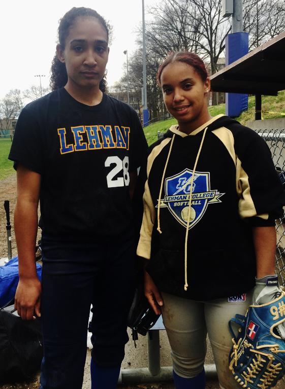 Maranda Diaz and Arlette Martinez during practice. Photo by Ashley Francis.