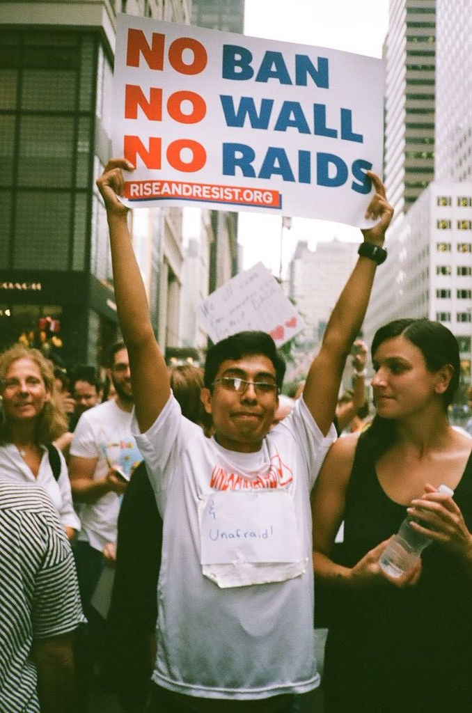 Trump administration's DACA ruling met with Manhattan protest Photo courtesy of Eric Soucy.