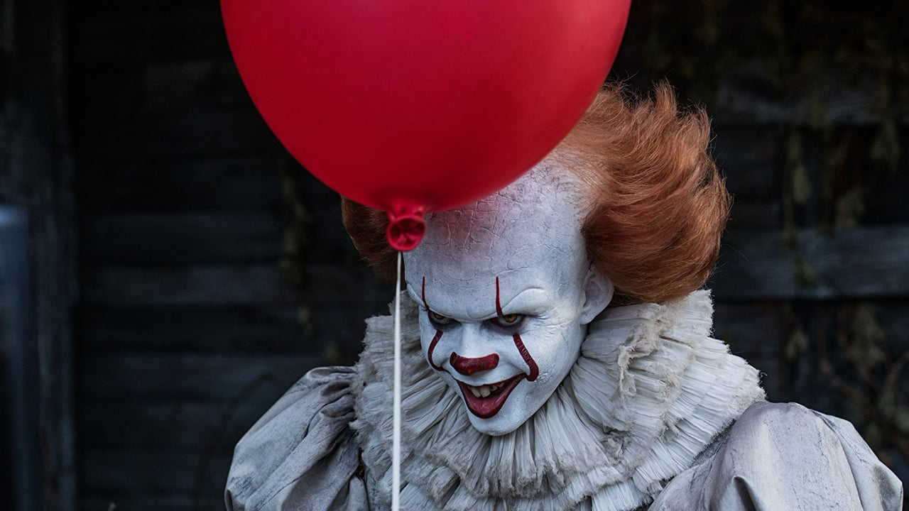 "Bill Skarsgård as Pennywise in Andres Muschietti's ""IT."" Photo courtesy of Vimeo."