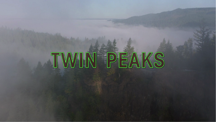 "Title card from ""Twin Peaks: The Return."" Photo courtesy of Wikipedia."