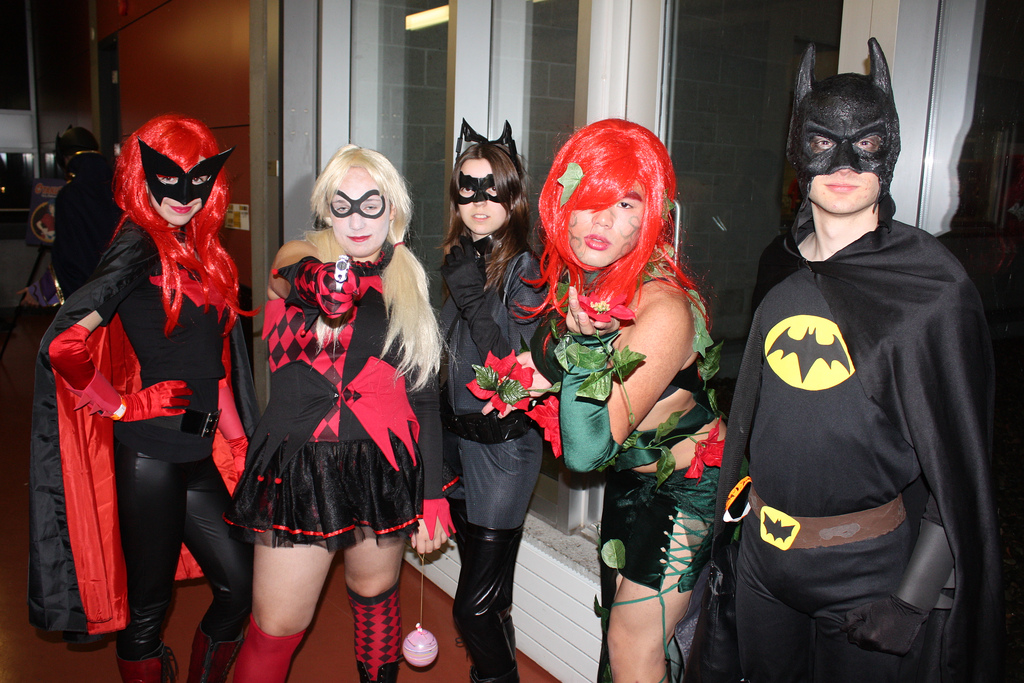 Comic book superheroes and villians remain popular Halloween costumes. Photo courtesy of Flickr.