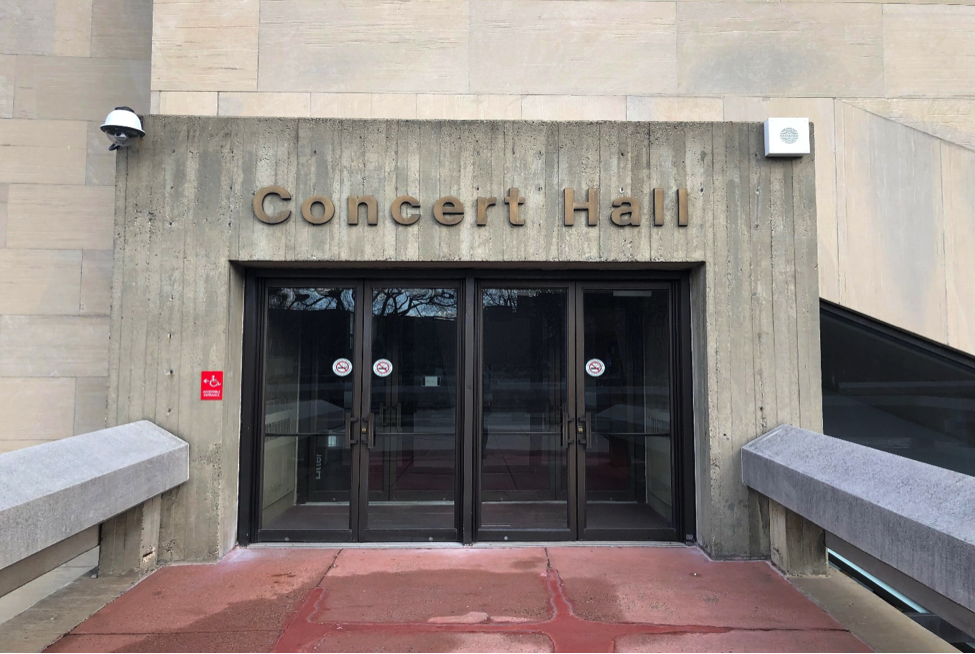 Center for the Performing Arts at Lehman College. Photo by Hector Bello.