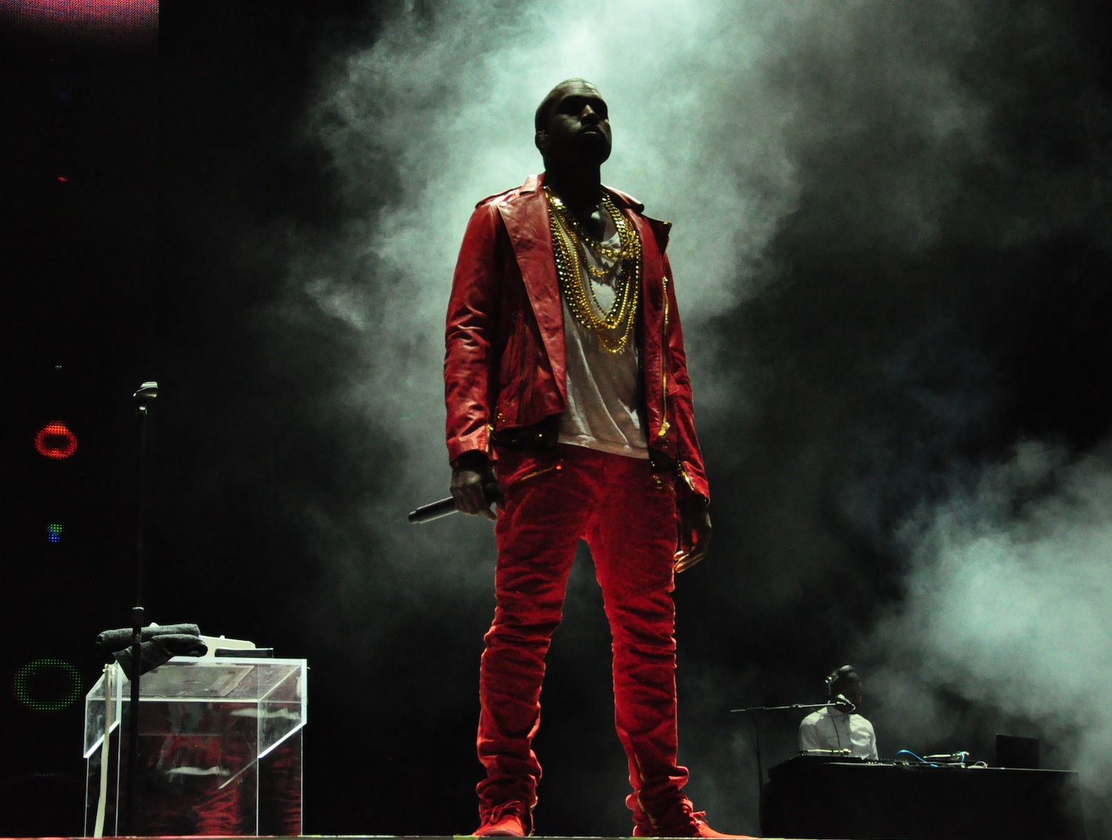 Kanye West at Lollapalooza Chile in 2011. Photo courtesy of Wikipedia.