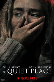 """Film poster for """"A Quiet Place."""" Photo courtesy of Wikipedia."""