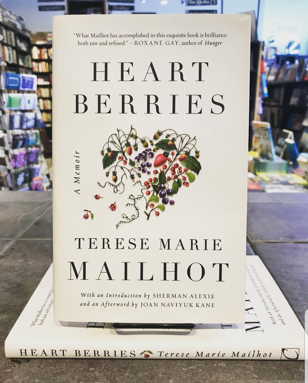 """Heart Berries"" by Teresa Marie Mailhot is a New York Times Bestseller. Photo courtesy of Symposium Books."