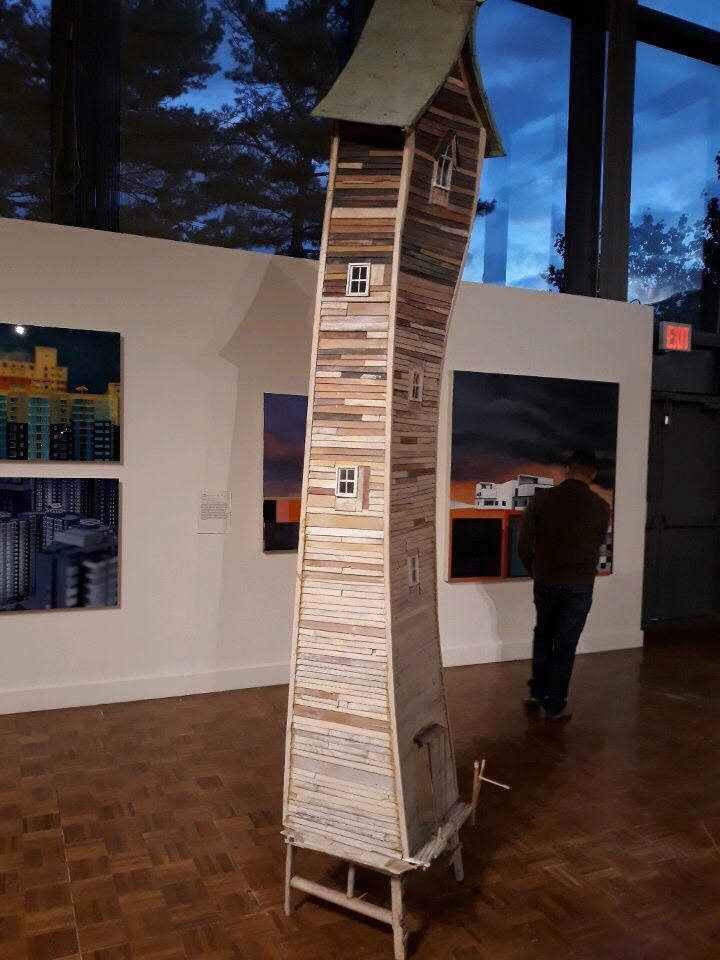 "Robert Hite's ""River Tower."" Photo courtesy of Marie-Claire Milius."