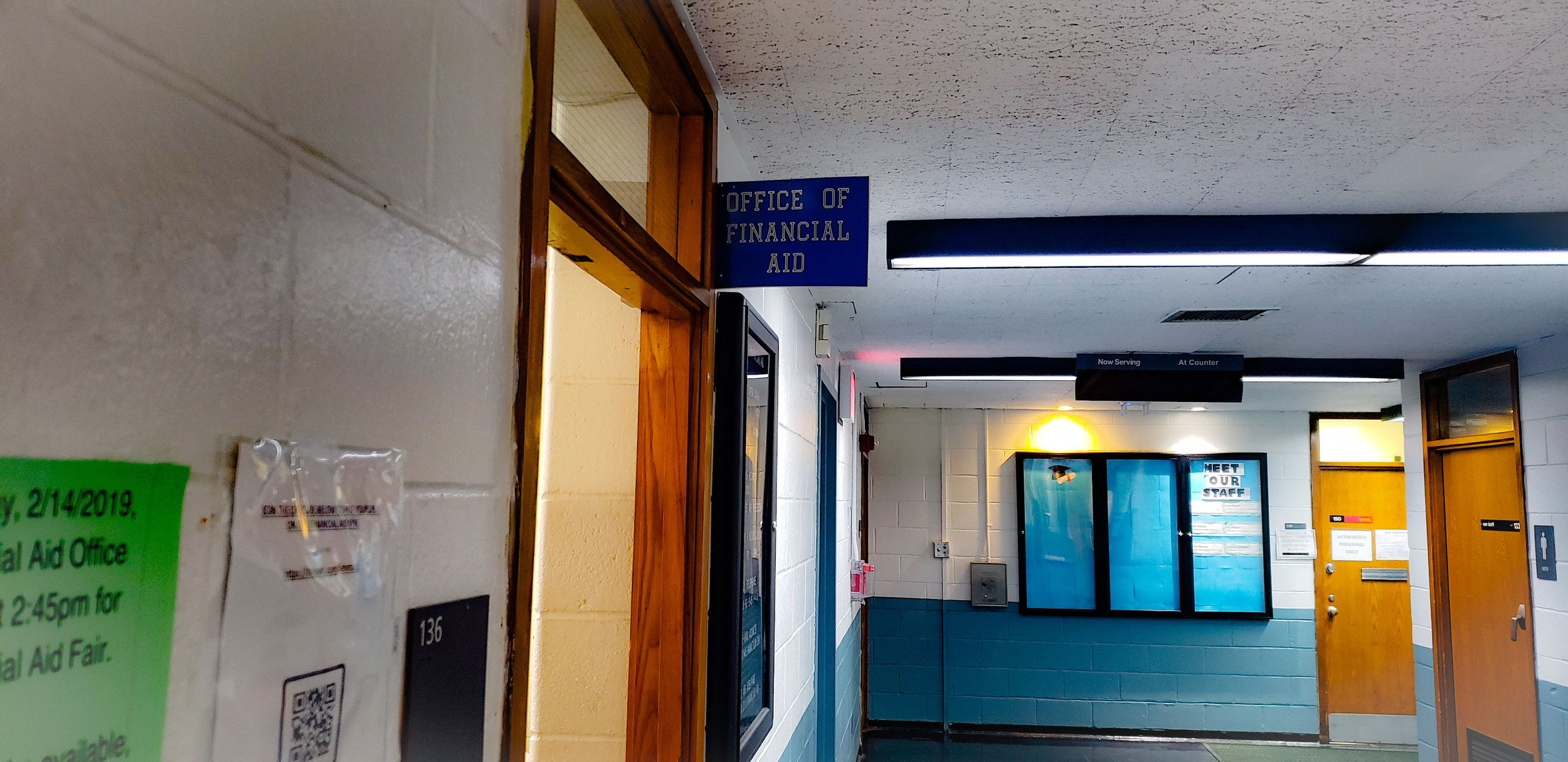 Lehman College Office of Financial Aid, located in Shuster Hall room 136.