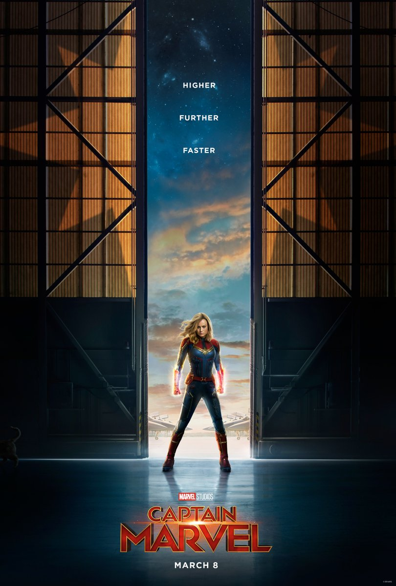 """""""Captain Marvel"""" made $455 million globally in its opening weekend. Photo courtesy of Flickr."""