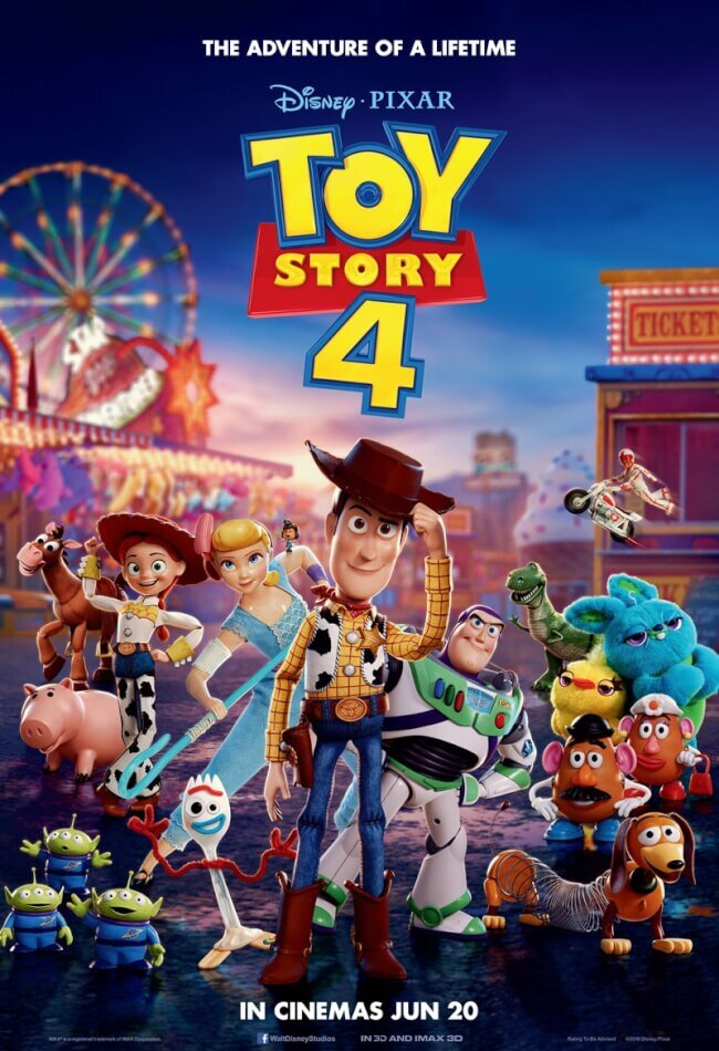 """Official Poster for """"Toy Story 4.""""  (Photo Credit: Disney/Pixar)"""
