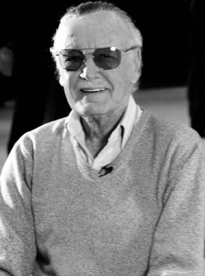 Stan Lee  (Photo Credit: Wikimedia Commons)