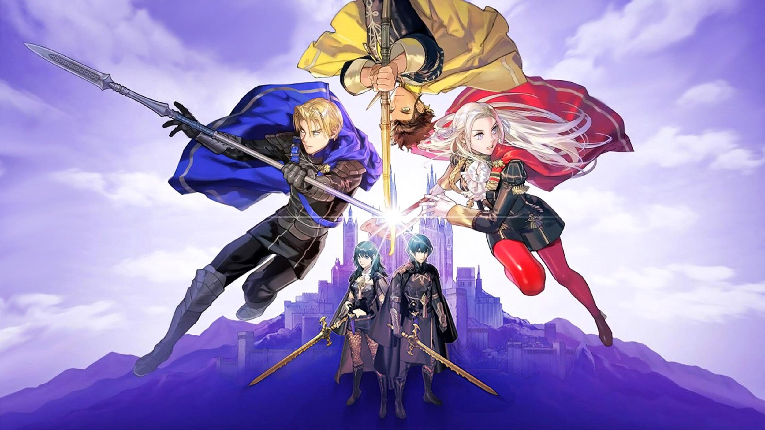 Official art for Fire Emblem: Three Houses.  (Photo Credit: Intellifence Systems)
