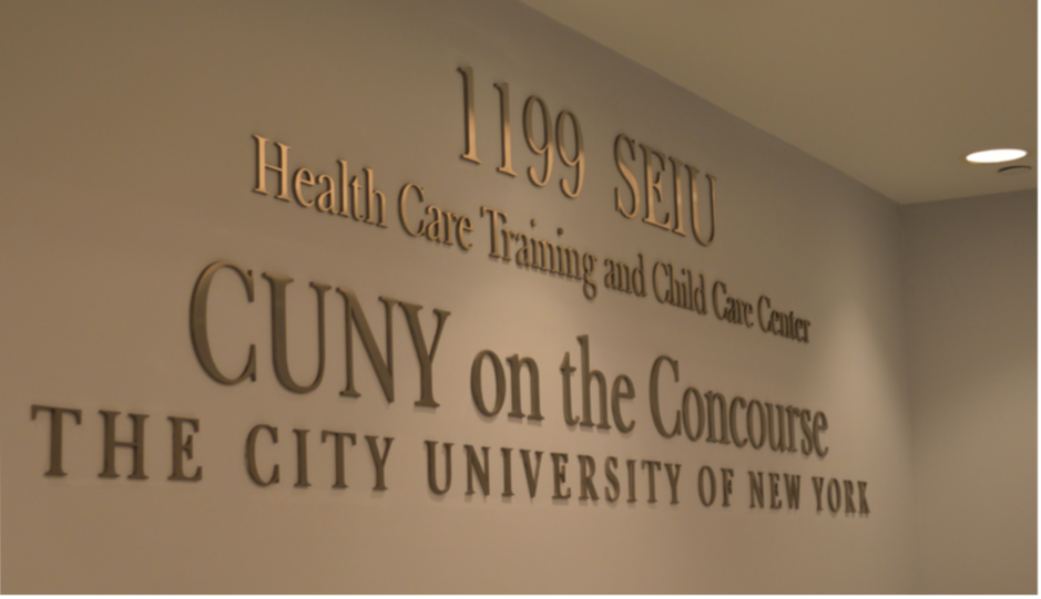 CUNY on the Concourse serves 1,500 people each semester and 4,500 people during a year  (Photo Credit: Deanna Garcia).