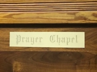 Prayer Chapel Sign.JPG