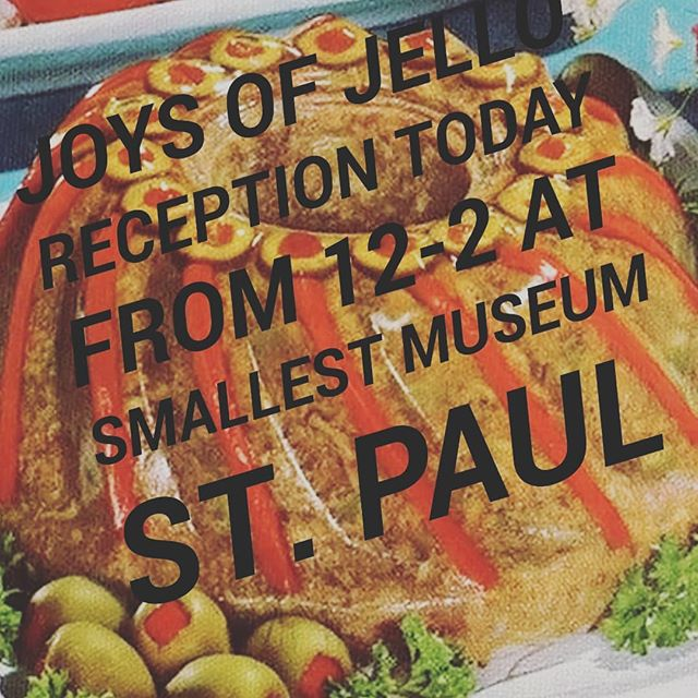 TODAY IS THE JELLO DAY! Come celebrate #joysofjello with us at @smallestmuseum. The artist, JoAnne Peters will have jello themed activities for the audience! Please participate in our jello movement (More details in story :) can't wait to see you all ! 2399 university Ave