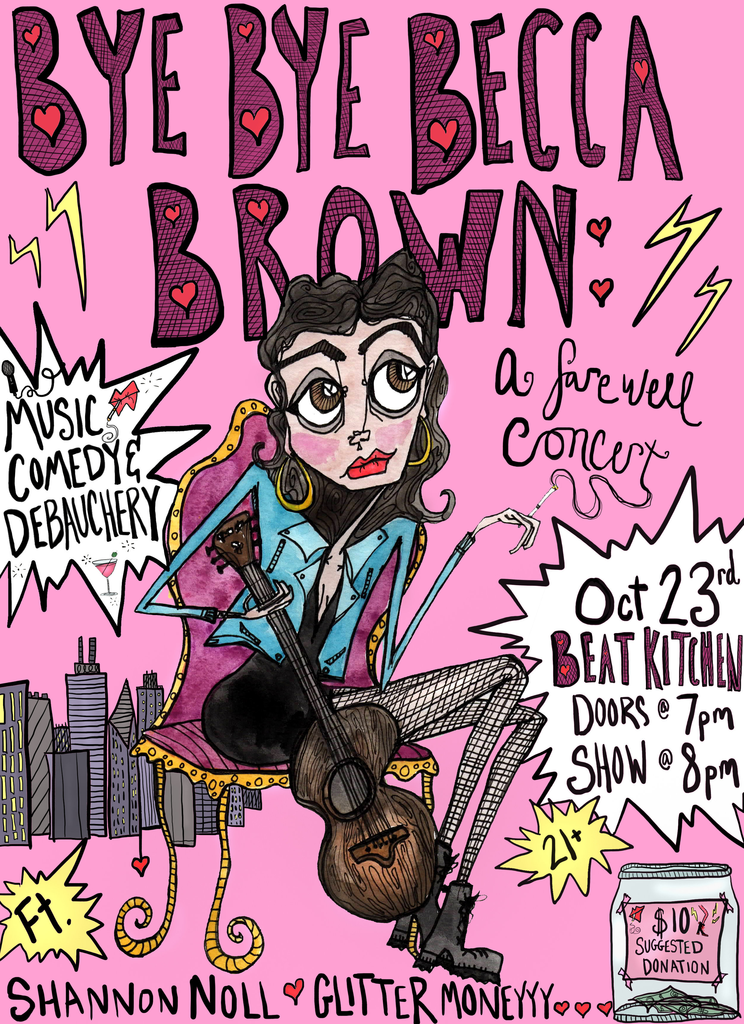 becca brown farewell concert