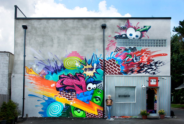 Mural by  Then One
