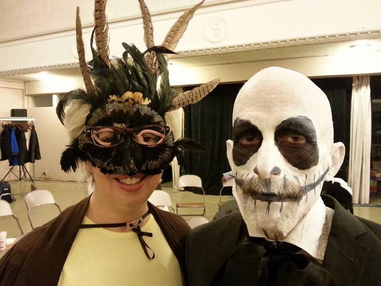 Julia and Penny,Halloween Dance 2016