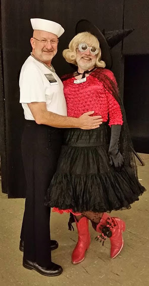 Rob and Leslie Gortex, Halloween Dance 2016