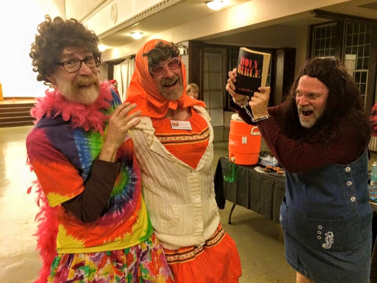 Tom, Bill, and Leslie, Halloween Dance 2015