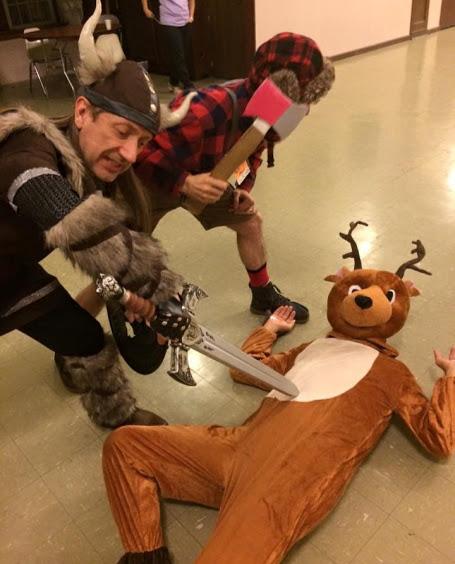 Ken, Paul and Jim,Halloween Dance 2015