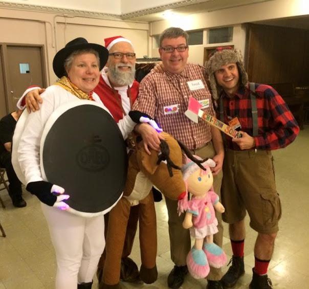 Gloria, Rich, Bob and Paul,Halloween Dance 2015
