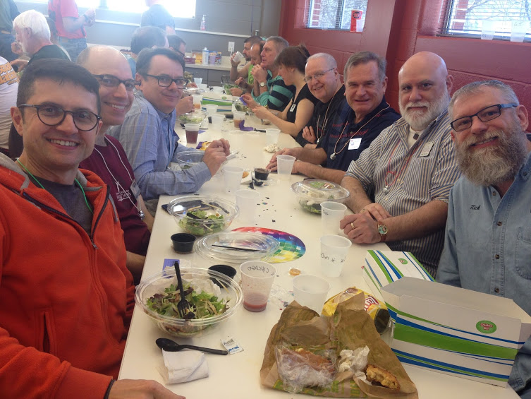 Paul, Mark, John, Chuck, Joe, Ping, and Rich, just some of the folks representing Chicago at the 2016 Atlanta Fly-in