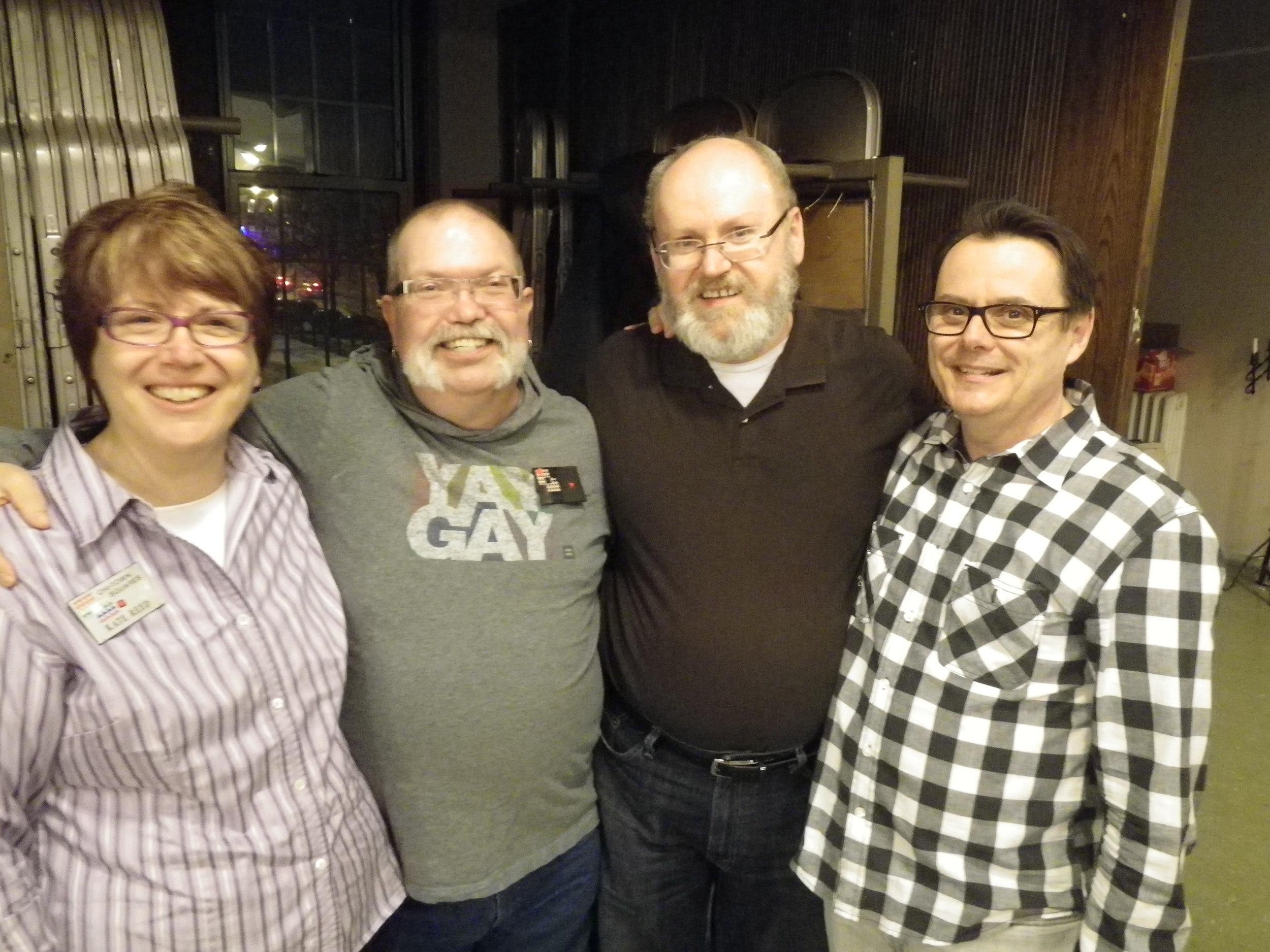 Kate, Devery, Steve and John, Mar 7, 2015