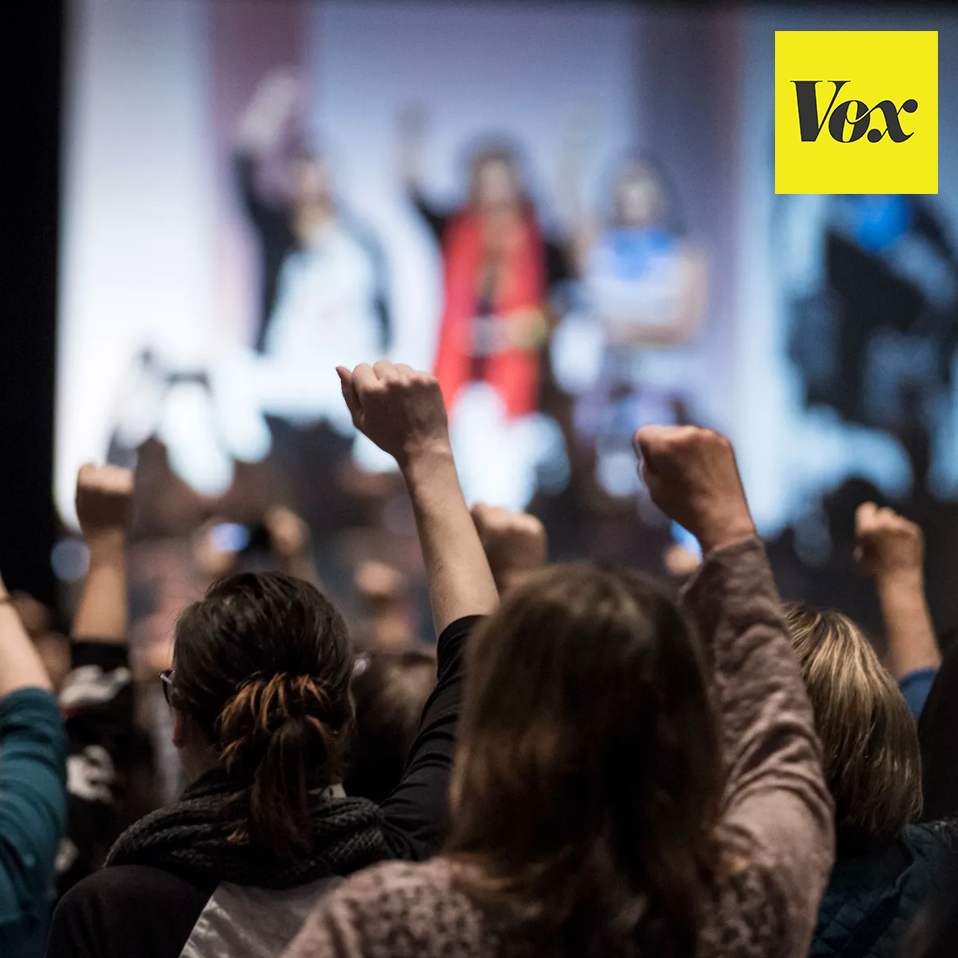 """VOX: """"WE'VE NEVER SEEN ANYTHING LIKE THIS"""": HOW TRUMP INSPIRED WOMEN TO RUN FOR OFFICE   The 2016 election has motivated a groundswell of women to run. And they may fare better than Clinton.   Read More  >"""