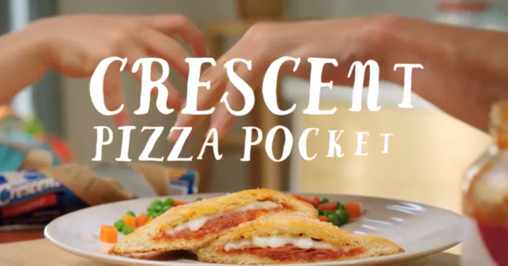 "Pillsbury ""Crescent Pizza Pocket"" - Commercial"