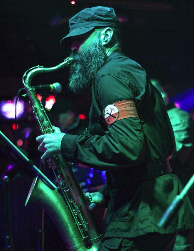 John Conrath: Saxophones, lap steel guitar, percussion, sequencer