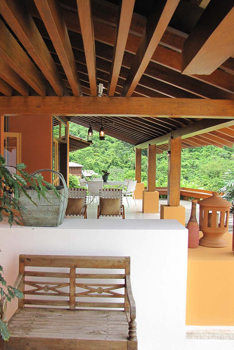 Casa Ilhabela     Varanda