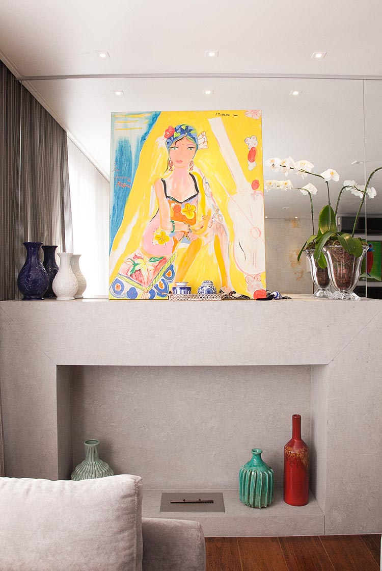 Apartamento Itaim 2  |  Lareira
