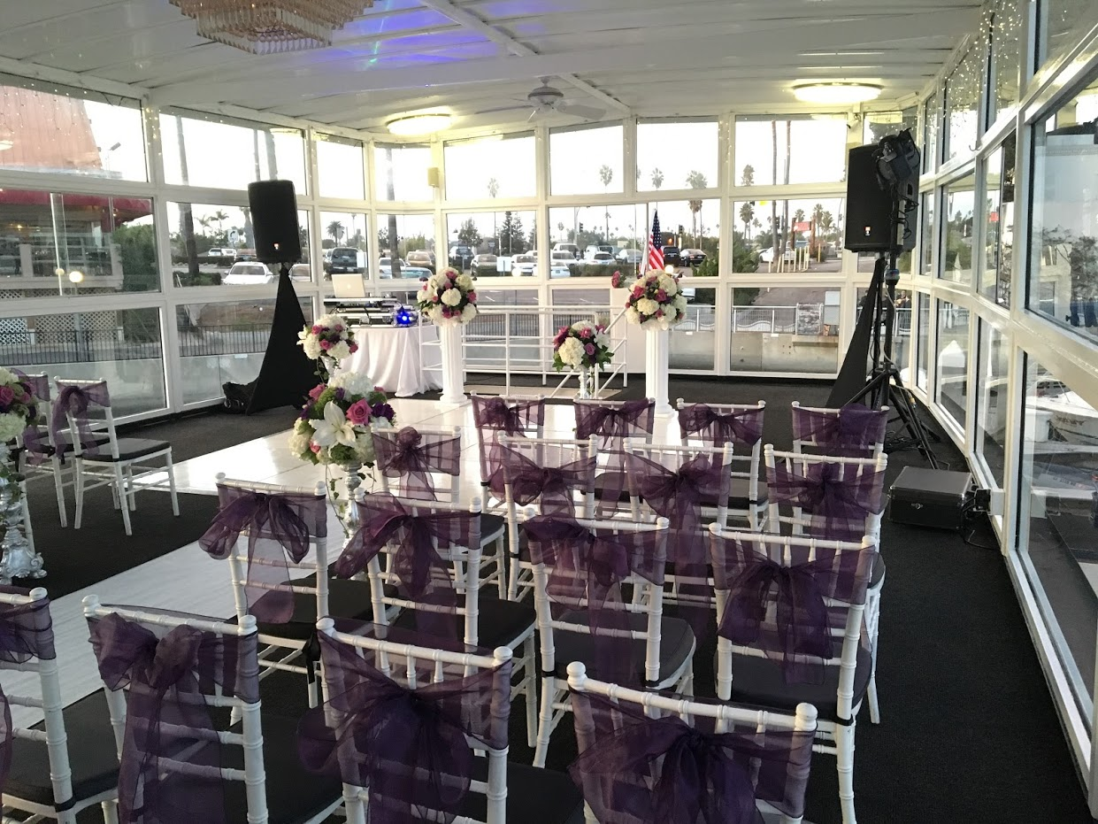 Wedding in Marina Del Rey, Ca FantaSea Yachts