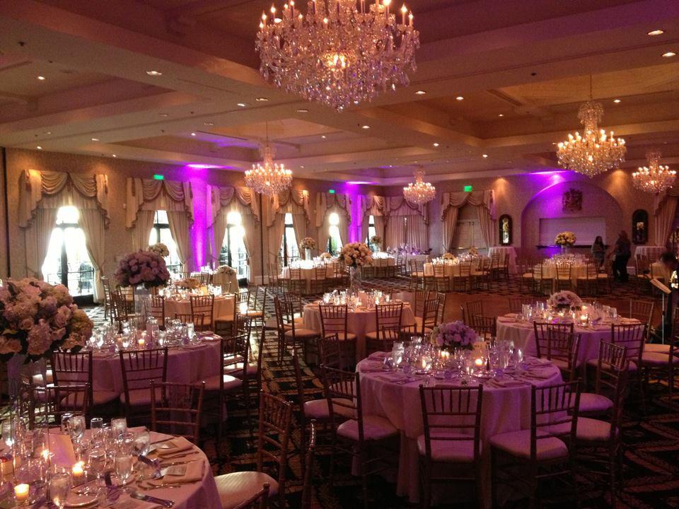 Wedding in Country Club in Rancho Palos Verdes, Ca