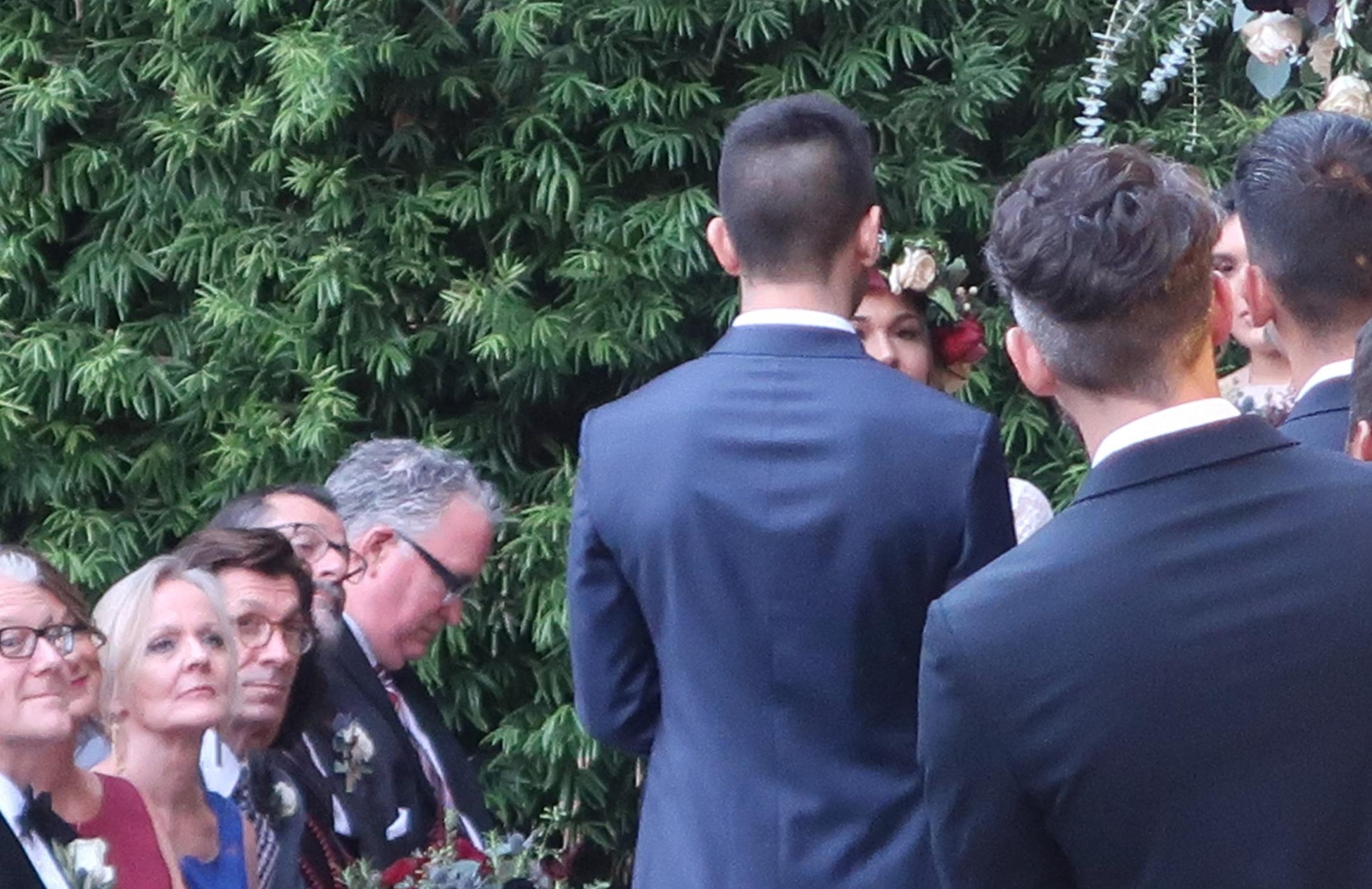 Franciscan Gardens Wedding Ceremony