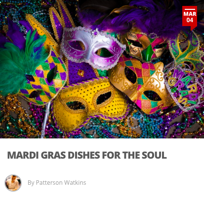 Mardi Gras Dishes for the Soul - Mardi Gras is the culmination of all that we hold dear in the service industry- food, drink, and community. New Orleans seems like a world within itself, home to distinct and iconic recipes found nowhere else in the world. The food is a combination of Creole, Cajun, and soul with roots from French, Spanish, West African and Native American influences. Expect hearty dishes that can range from complex and heavy to rustic and simple.