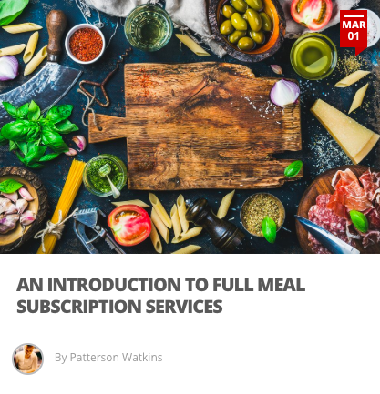 An Introduction to Full Meal Subscription Services - The meal kit industry started as a niche food option for aspiring home cooks and busy professionals who were looking for a quick fix to nightly meals. Over the past 5 years we've seen a market boom with meal kits.What does that mean for our food service industry? Is it a stable trend to be wary of or a passing fad? Here we look into the top seven meal kit companies and the business trends surrounding the sector.